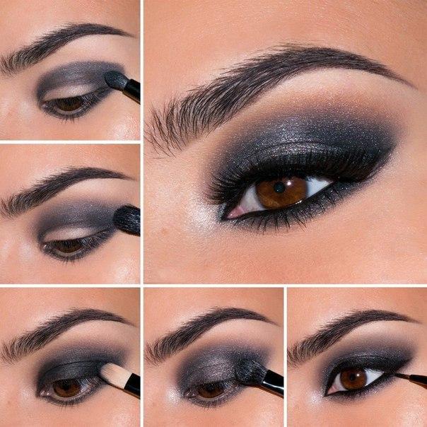 Танцевальный макияж глаз